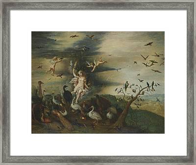 An Allegory Of Air Framed Print