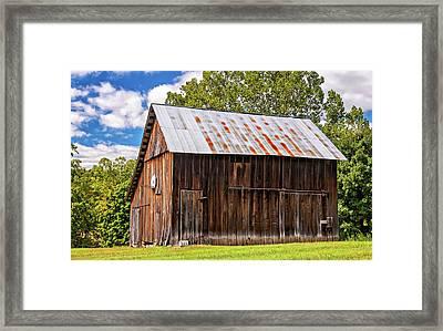 An American Barn 2 Framed Print