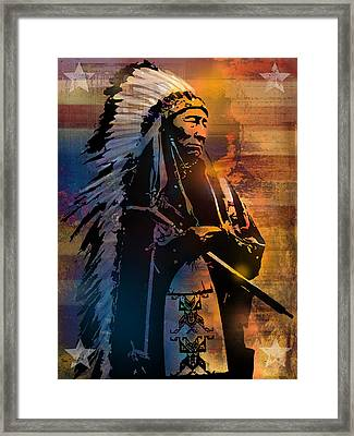 An American Sunrise Framed Print