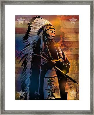 An American Sunrise Framed Print by Paul Sachtleben