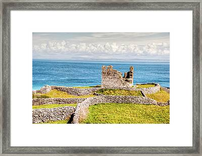 An Ancient Irish Castle Framed Print by Natasha Bishop