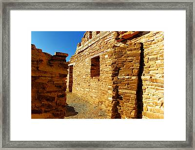 An Ancient Walkway Framed Print by Jeff Swan
