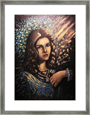 An Angel A Friend And Vacuum  Framed Print by Aleksei Gorbenko