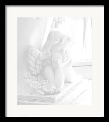 Heaven Dieing Framed Prints