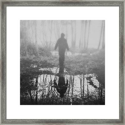 An Angel Framed Print by Art of Invi