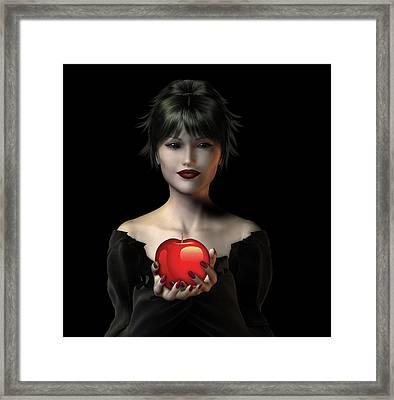 An Apple A Day . . . Framed Print