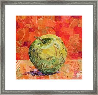 An Apple For Granny Framed Print