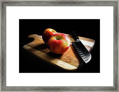 An Apple Or Two Framed Print