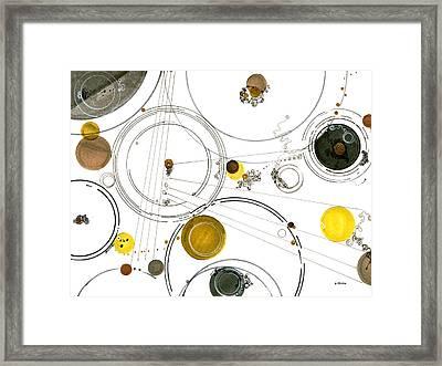 An Astronomical Misunderstanding Framed Print