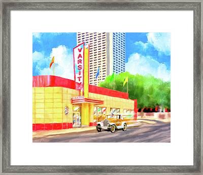 An Atlanta Original - The Varsity Framed Print