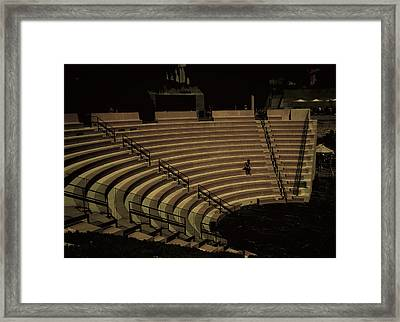 An Audience Of One Framed Print by Joseph Hollingsworth