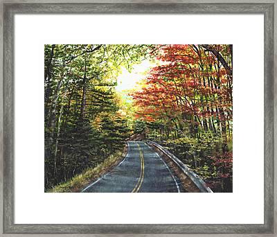An Autumn Day Framed Print