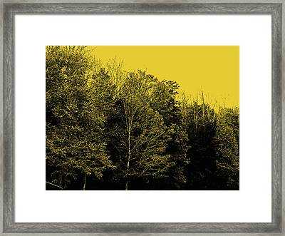 An Autumnal Visit Framed Print by Marian Bell
