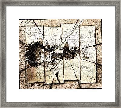 An Axe To Grind Framed Print by Gary Bodnar