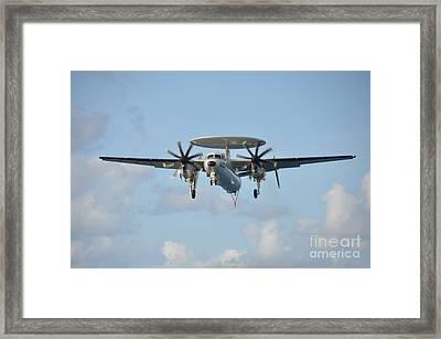 An E-2 Hawkeye  Framed Print by Celestial Images