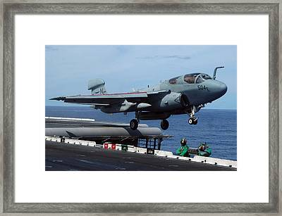 An Ea-6b Prowler Launches Framed Print by Stocktrek Images