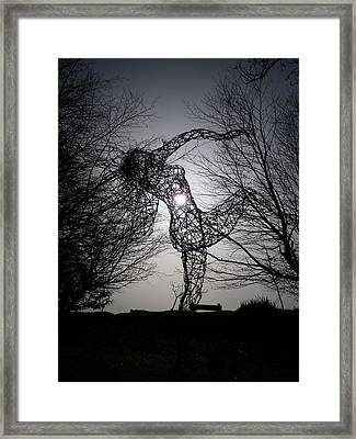 An Eclipse Of The Heart? Framed Print