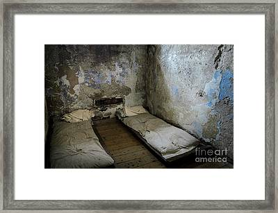 Framed Print featuring the photograph An Empty Cell In Cork City Gaol by RicardMN Photography