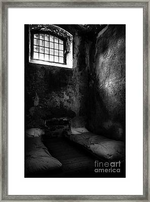 Framed Print featuring the photograph An Empty Cell In Old Cork City Gaol by RicardMN Photography