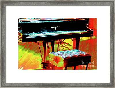 Framed Print featuring the photograph An Empty Seat by Jesse Ciazza