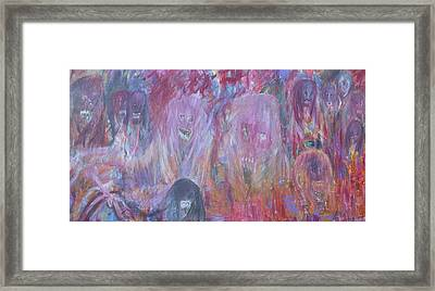 An Evening In Heaven Framed Print by Randall Ciotti