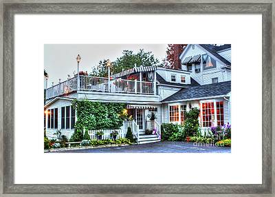 An Evening To Celebrate Framed Print