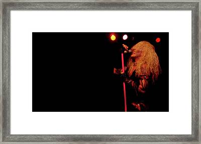 An Evening With Twisted Sister Framed Print