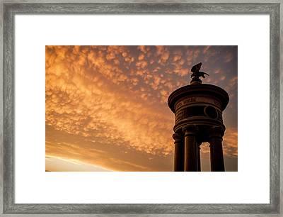 An Excelsior Sunset Framed Print by Kat Zalewski-Bednarek