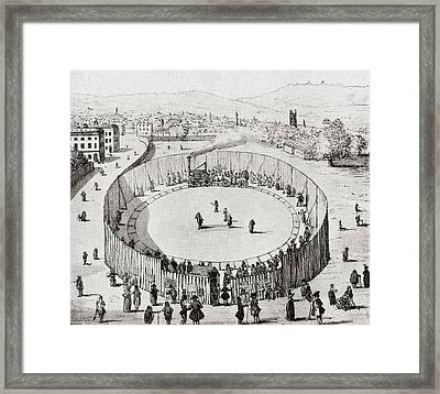 An Exhibition Of Steam Traction By Framed Print