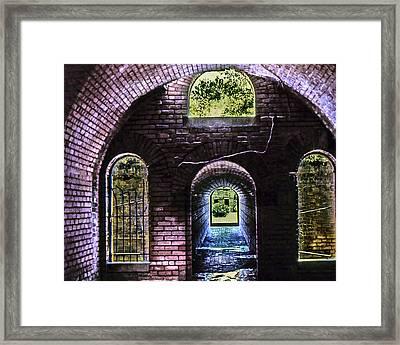 An Exit Framed Print
