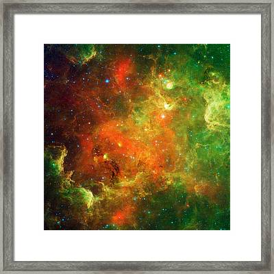An Extended Stellar Family - North American Nebula Framed Print