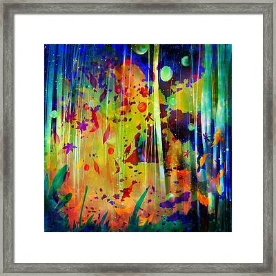 An Extra Cheese And Pepperoni Dream Framed Print
