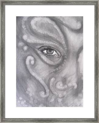 An Eye On You Framed Print by Adrienne Martino