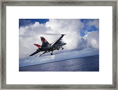 An F A-18f Super Hornet  Framed Print by Celestial Images