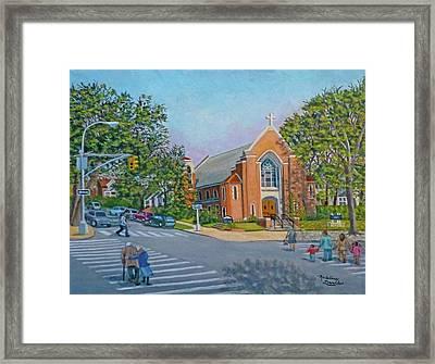 An Historical Church Framed Print