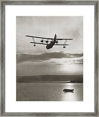 An Imperial Airlines Scipio Class Framed Print