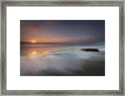 An Impressionable Sea Framed Print