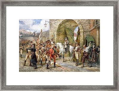 An Incident In The Peninsular War Framed Print