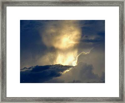 An Incredible Sky Framed Print