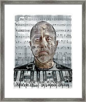 An Innocent Man Framed Print by Mal Bray