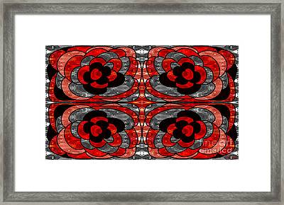 An Inspired Life Begins Abstract Illustrations By Omashte Framed Print