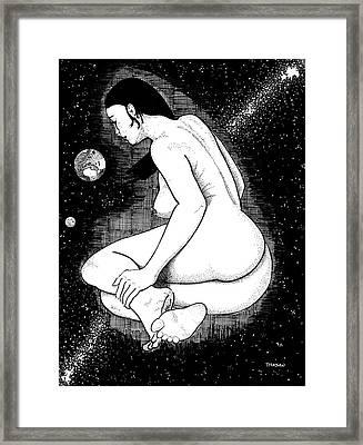 An Interesting Find Framed Print