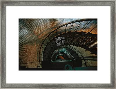 An Interior View Of The Corolla Framed Print by Steve Winter