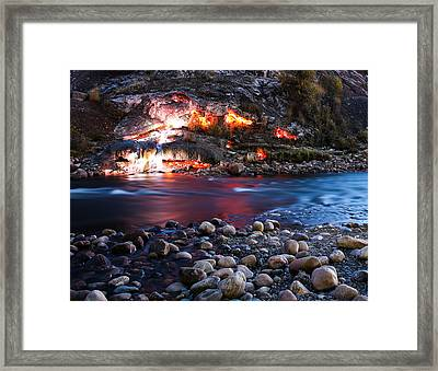 An Investigation Of The Elements Framed Print by Knomad Colab
