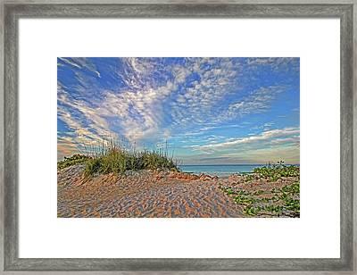 An Invitation - Florida Seascape Framed Print