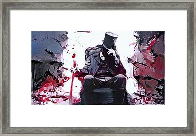 An Invitation From Mr. Grimm Framed Print