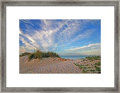 An Invitation - Florida Seascape Framed Print