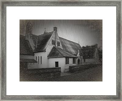 An Irish Church Framed Print by Dave Luebbert