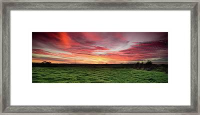 An Irish Landscape Framed Print