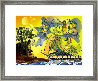 An Island Dream Framed Print by Gary Kennedy